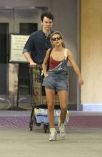 SARAH HYLAND Out Shopping in Los Angeles 06/06/2015