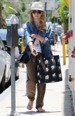 SARAH MICHELLE GELLAR Out and About in Los Angeles 06/24/2015