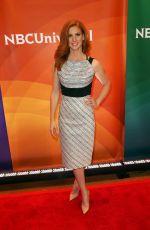SARAH RAFFERTY at NBC Summer Press Day in New York