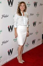 SASHA ALEXANDER at Thewrap's 2015 Emmy Party in West Hollywood