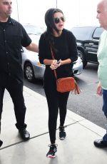 SELENA GOMEZ Arrives at JFK Airport in Ne York 06/23/2015