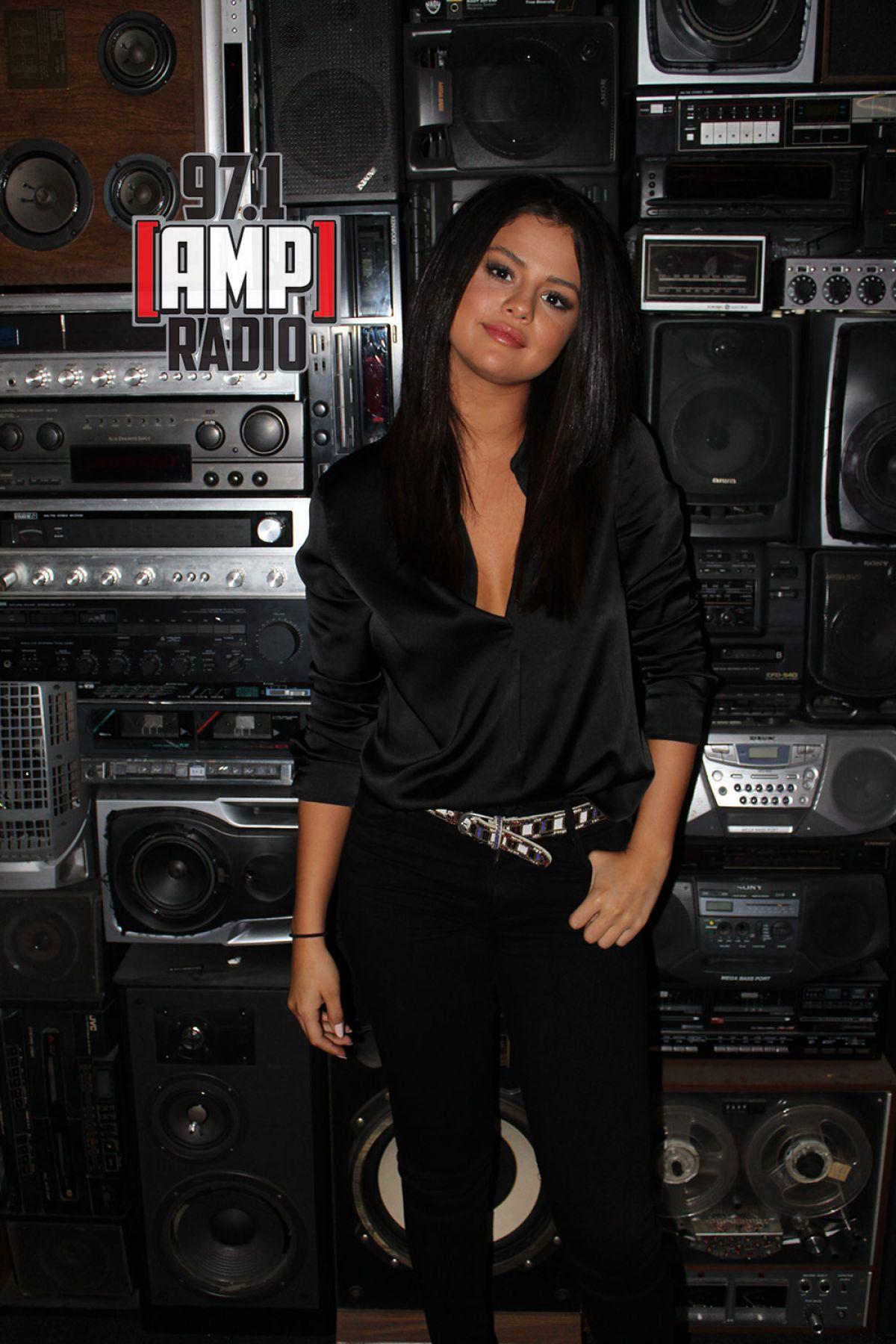 SELENA GOMEZ at 97.1 Amp Radio 06/22/2015 in New York
