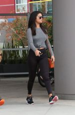 SELENA GOMEZ Leaves a Gym in West Hollywood 06/18/2015