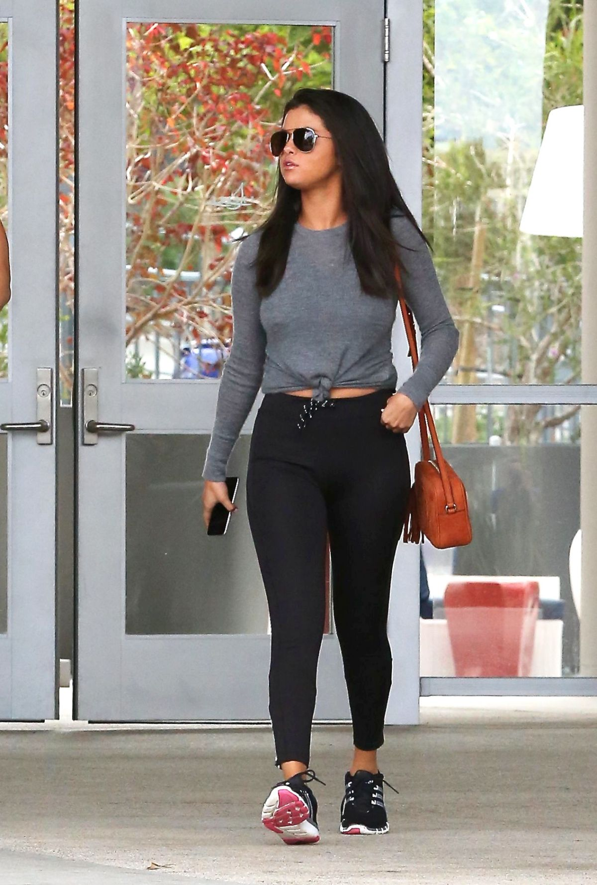SELENA GOMEZ Leaves a Gym in West Hollywood 06/18/2015 ... Selena Gomez Gym