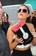 SELENA GOMEZ Leaves iHeart Radio in New York 06/22/2015