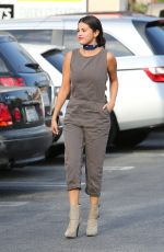 SELENA GOMEZ Out and About in Los Angeles 06/04/2015