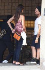SHANNON ELIZABETH at a Subway Station in Soho 06/19/2015