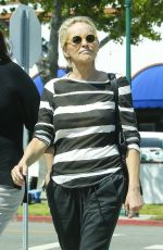 SHARON STONE OuOut and About in Los Angeles 06/16/2015