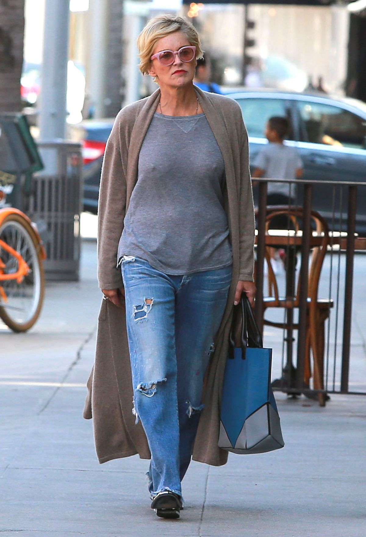 Sharon Stone Out And About In Beverly Hills 06 03 2015