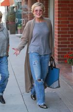 SHARON STONE Out and About in Beverly Hills 06/03/2015