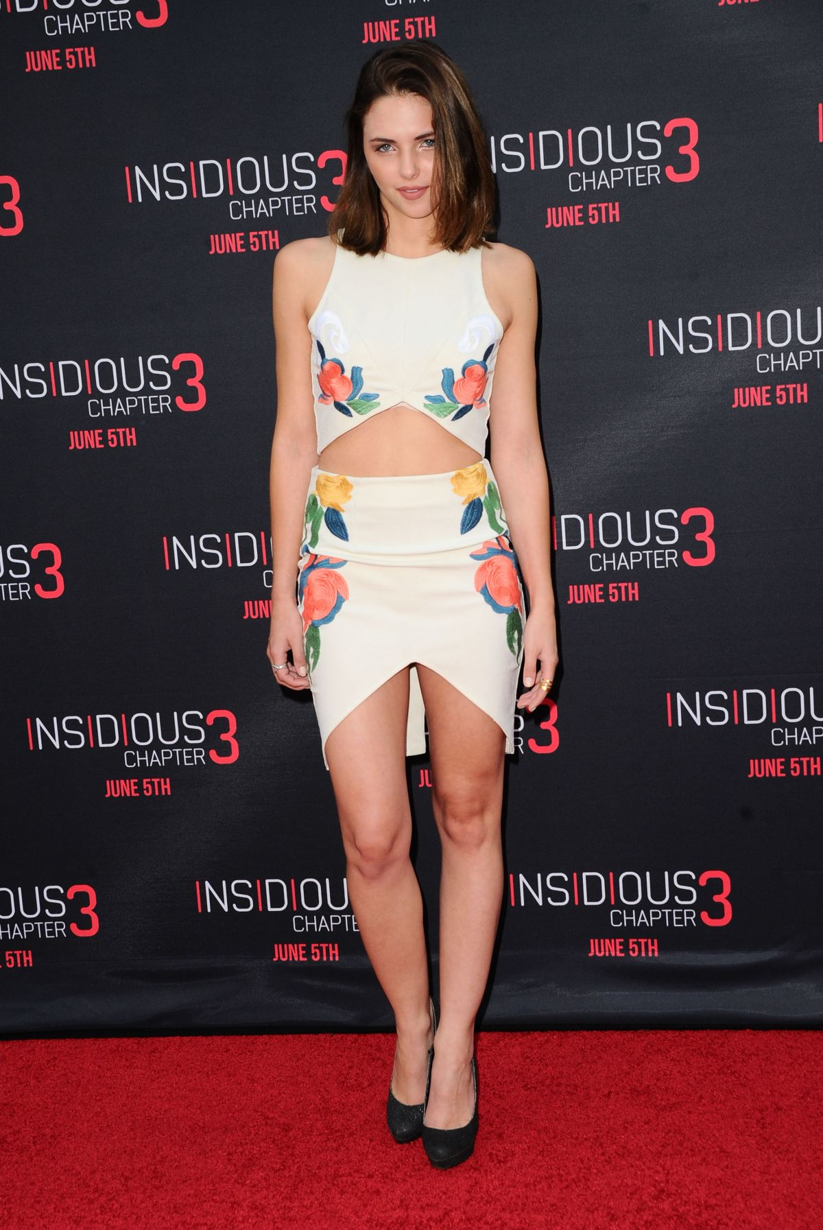 SIDNEY ALLISON at Insidious Chapter 3 Premiere in Hollywood