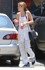 SOFIA RICHIE Out and About in West Hollywood 06/20/2015