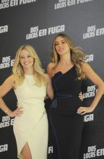 SOFIA VERGARA and REESE WITHERSPOON at Hot Pursuit Photocall in Mexico City