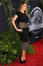SOFIA VERGARA at Jurassic World Premiere in Hollywood