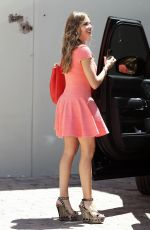 SOFIA VERGARA in Short Dress Out in West Hollywood 06/08/2015