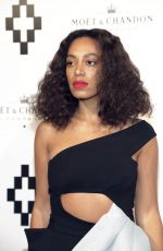 SOLANGE KNOWLES at Tiger Bottle Collection Launch