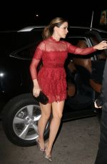 SOPHIA BUSH Arrives at Chateau Marmont in West Hollywood 06/03/2015