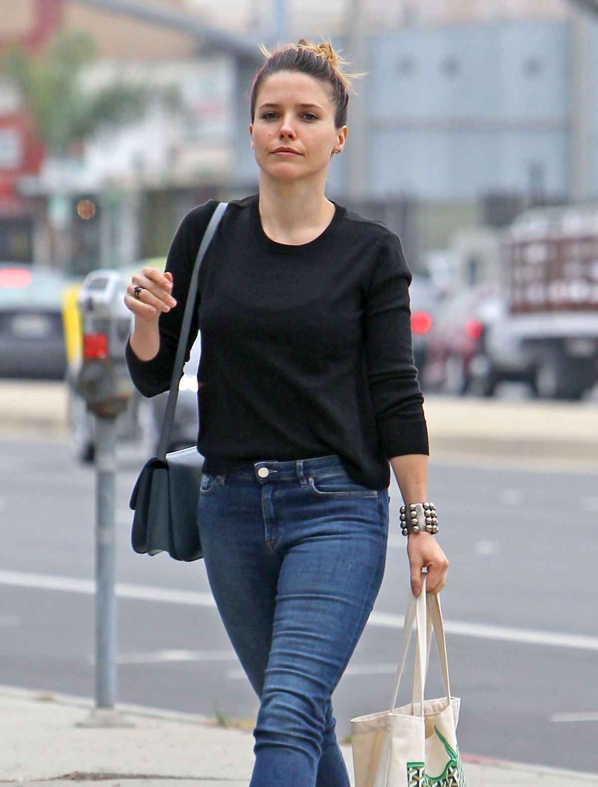 SOPHIA BUSH in Jeans Out and About in Venice 06/15/2015