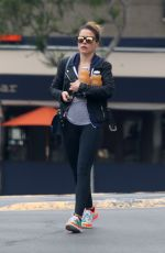 SOPHIA BUSH Out and About in West Hollywood 06/11/2015