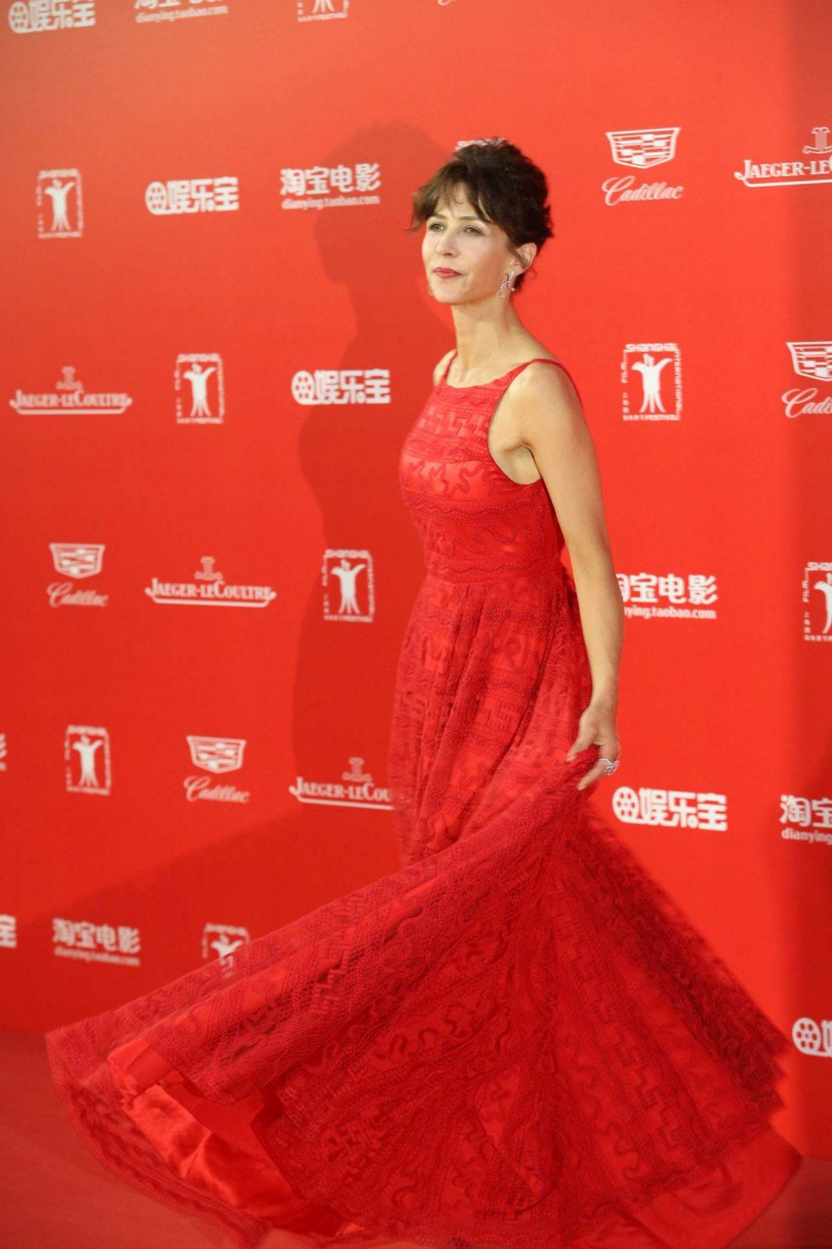 SOPHIE MARCEAU at 2015 Shanghai International Film Festival Closing Ceremony