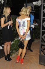 SOPHIE MONK at Gracias Madre Restaurant in West Hollywood 06/23/2015