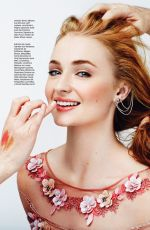 SOPHIE TURNER in Glamour Magazine