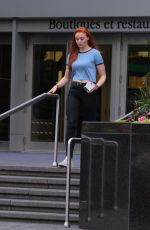 SOPHIE TURNER Out and About in Montreal 06/29/2015