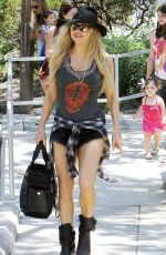 STACY FERGIE FERGUSON Out at a Park in Brentwood 06/19/2015