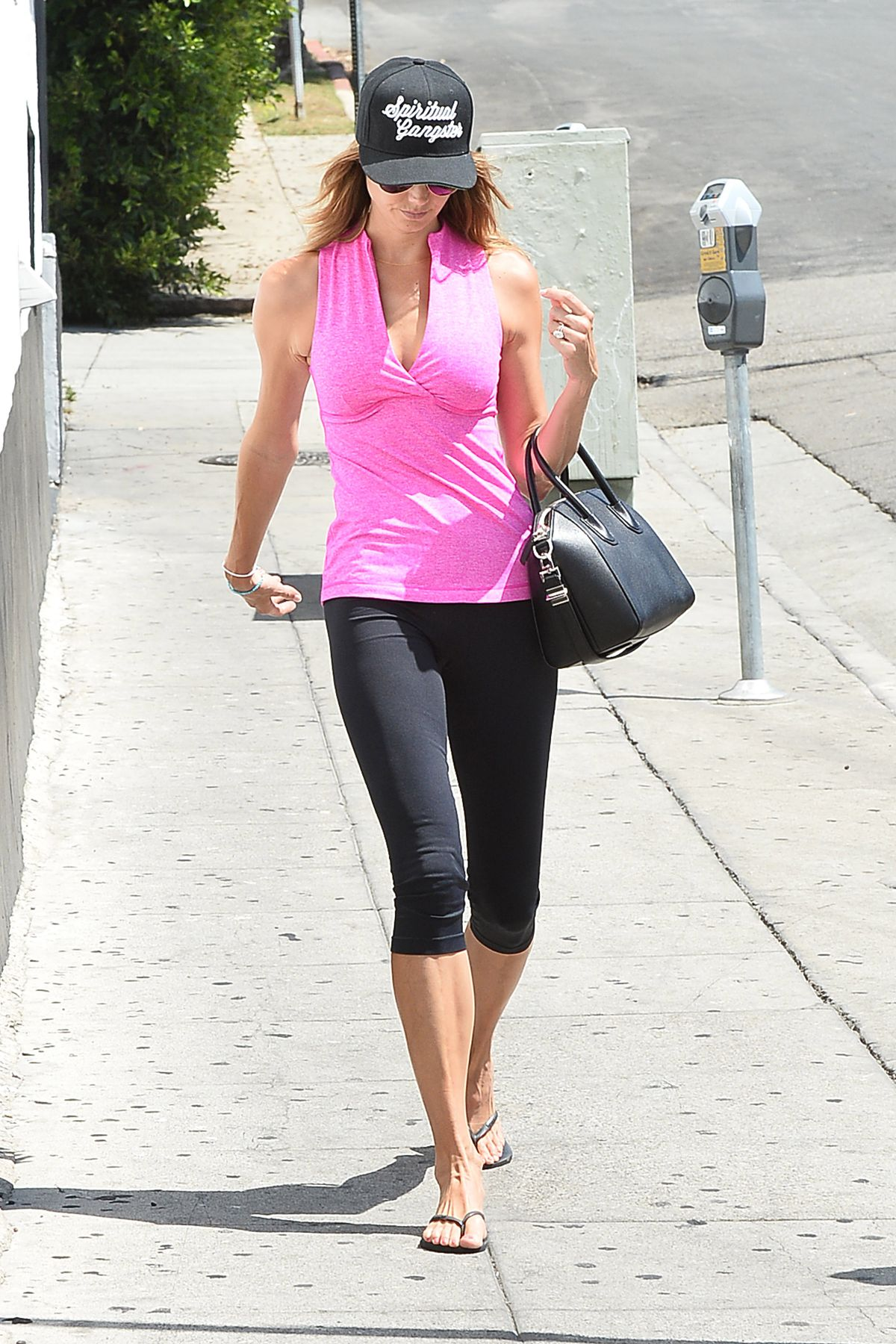 STACY KEIBLER in Leggings Out and About in Los Angeles 06/22/2015