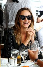 STACY KEIBLER Out for Lunch with Friends in Los Angeles 06/12/2015