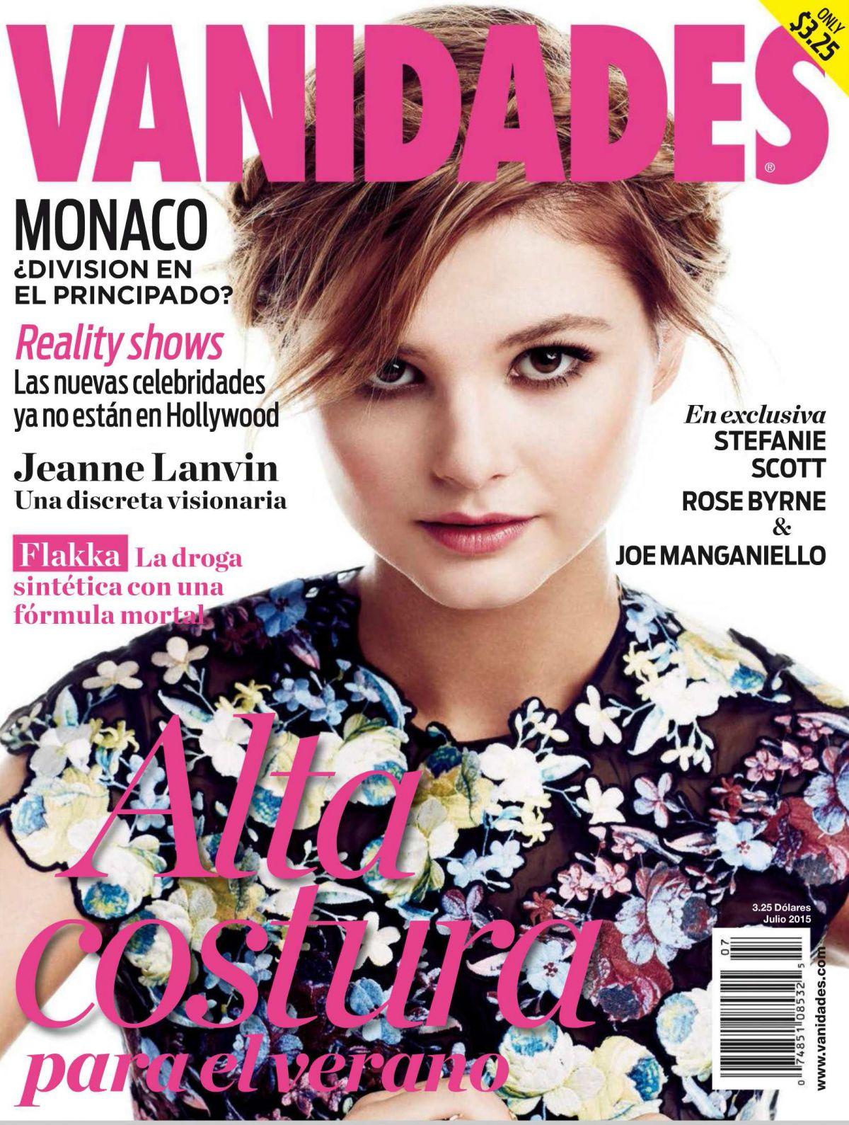 STEFANIE SCOTT in Vanidades Magazine, July 2015 Issue