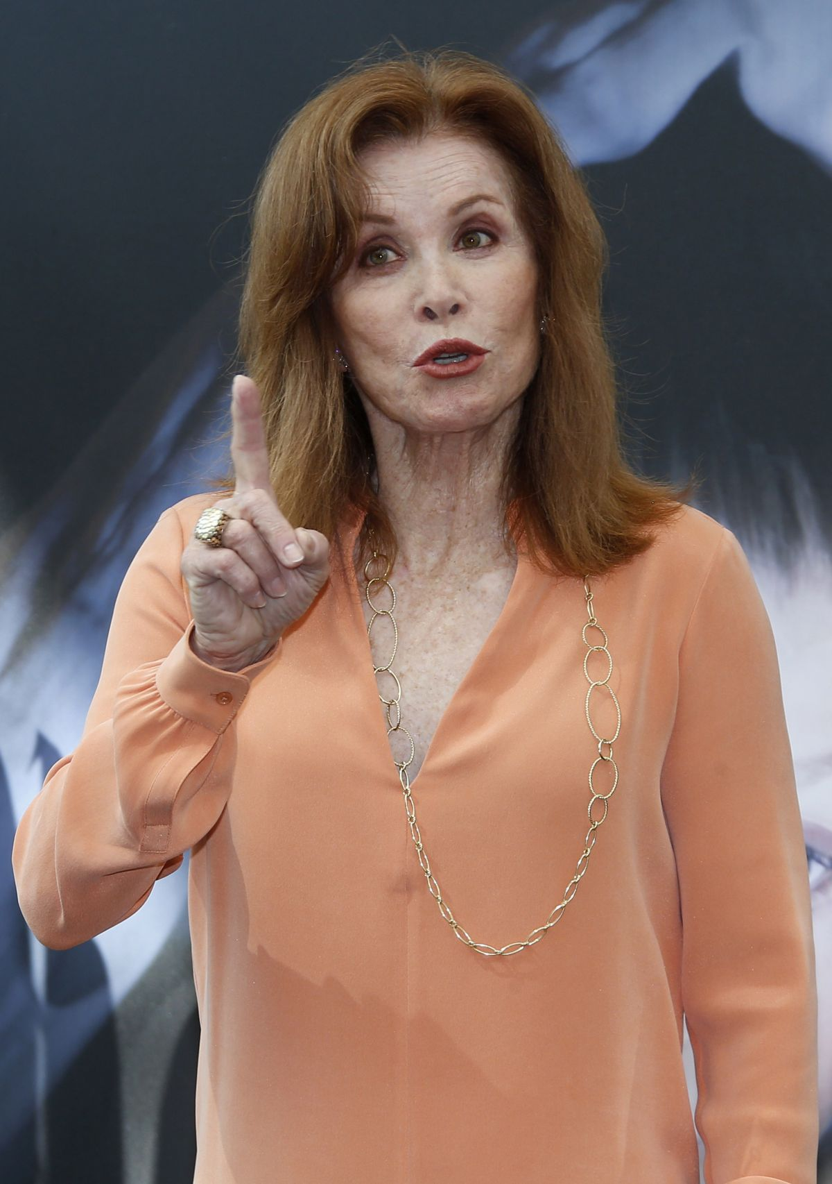 STEPHANIE POWERS at the 55th Monte Carlo TV Festival in Monte-Carlo