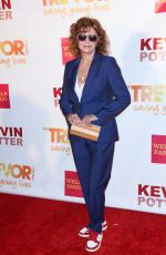 SUSAN SARADON at Trevorlive Event in New York
