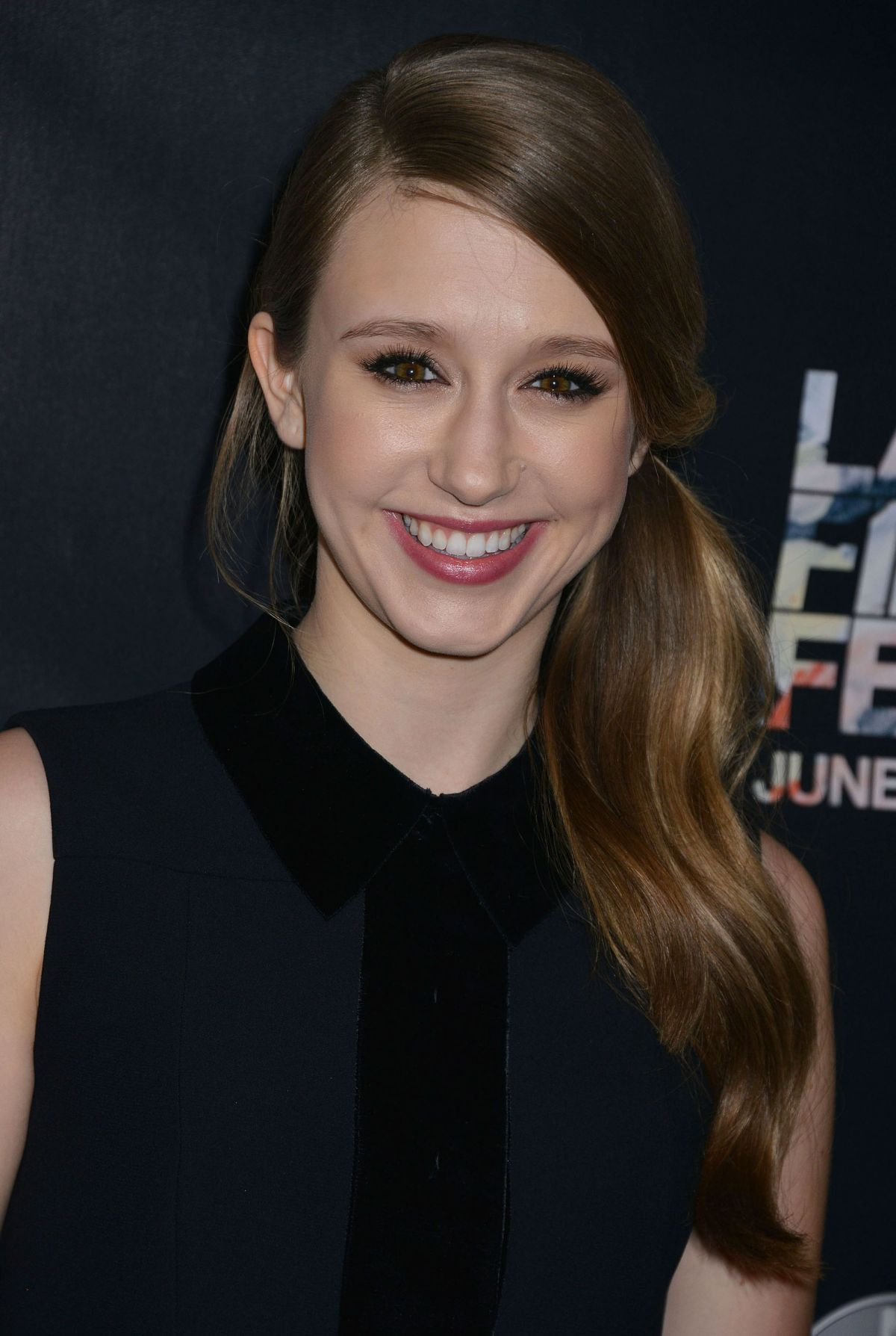 taissa farmiga at the final girls screening at 2015 la