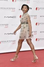 TARAJI P. HENSON at 55th Monte Carlo TV Festival Opening in Monte-carlo