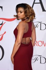 TARAJI P. HENSON at CFDA Fashion Awards 2015 in New York