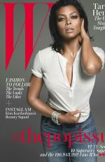 TARAJI P. HENSON in W Magazine, August 2015 Issue