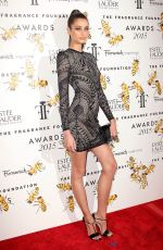 TAYLOR HILL at 2015 Fragrance Foundation Awards in New York