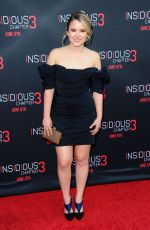 TAYLOR SPREITLER at Insidious Chapter 3 Premiere in Hollywood
