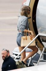 TAYLOR SWIFT at Airport in Glasgow 06/23/2015