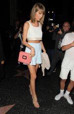 TAYLOR SWIFT at Katsuya in West Hollywood 06/10/2015