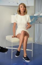 TAYLOR SWIFT at Keds and Taylor Swift 1989 Style Event at Canoe Studios in New York