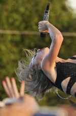 TAYLOR SWIFT Perfors at 1989 World Tour at Hyde Park in London 06/27/2015