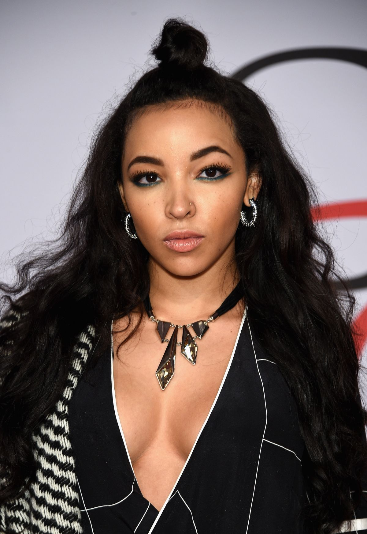 TINASHE at CFDA Fashion Awards 2015 in New York