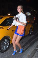 TONI GARRN Leaves Game Nightclub in New York 06/03/2015