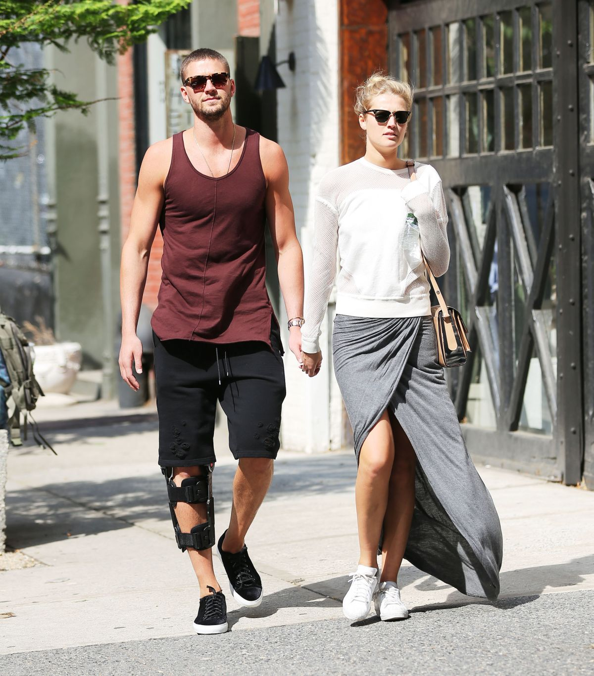 Toni garrn out and about in new york