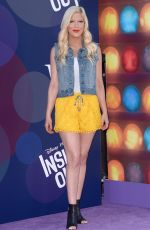 TORI SPELLING at Inside Out Premiere in Hollywood