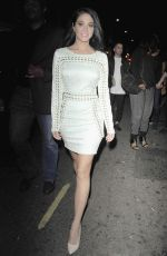 TULISA CONTOSTAVLOS at Mahiki Night Club in London 06/13/2015