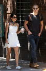 VANESSA HUDGENS and Austin Butler Out in New York 06/24/2015