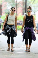 VANESSA HUDGENS Heading to Yoga Class in New York 06/12/2015